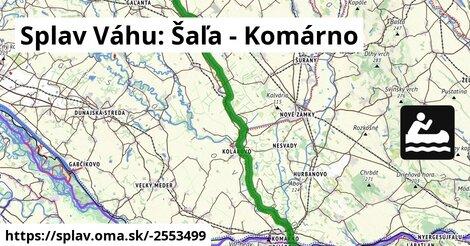 ilustračný obrázok k Splav Váhu: Šaľa - Komárno