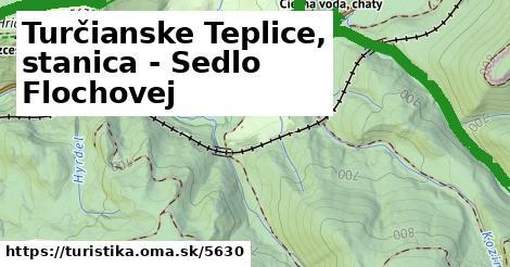 ilustračný obrázok k Turčianske Teplice, stanica - Sedlo Flochovej