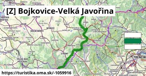 ilustračný obrázok k Bojkovice-Velká Javořina