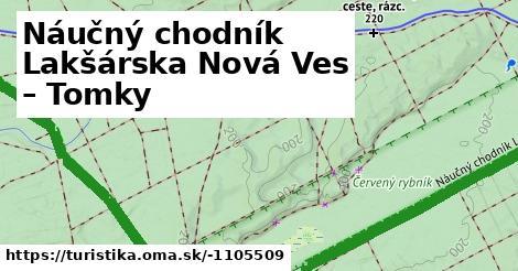 ilustračný obrázok k Lakšárska Nová Ves - Tomky, chaty