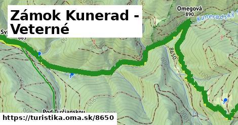 ilustračný obrázok k Zámok Kunerad - Veterné