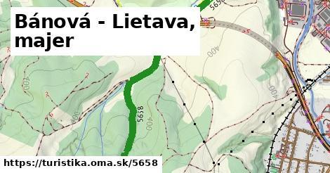 ilustračný obrázok k Bánová - Lietava, majer