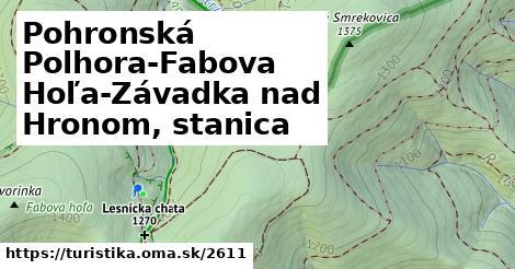 ilustračný obrázok k Pohronská Polhora-Fabova Hoľa-Závadka nad Hronom, stanica