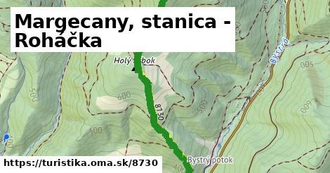 ilustračný obrázok k Margecany, stanica - Roháčka
