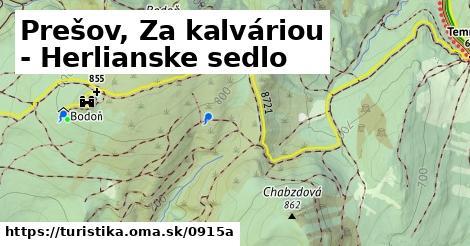 ilustračný obrázok k Prešov, Za kalváriou - Herlianske sedlo
