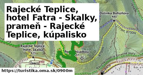 ilustračný obrázok k Rajecké Teplice, hotel Fatra - Skalky, prameň - Rajecké Teplice, kúpalisko