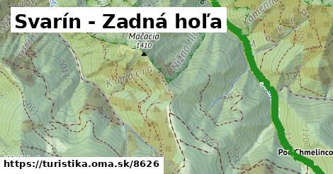 ilustračný obrázok k Svarín - Zadná hoľa