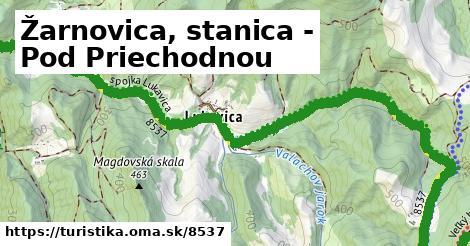 ilustračný obrázok k Žarnovica, stanica - Pod Priechodnou