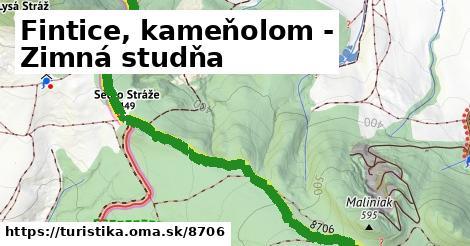 ilustračný obrázok k Fintice, kameňolom - Zimná studňa