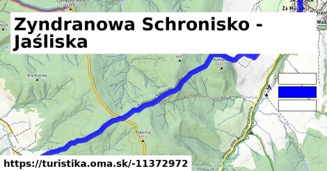 Zyndranowa Schronisko - Jaśliska