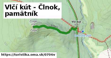 ilustračný obrázok k Vlčí Kút - Člnok, pamätník