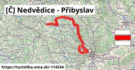 [Č] Nedvědice - Přibyslav