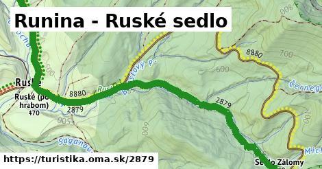 ilustračný obrázok k Runina - Roztoki Górne,PL