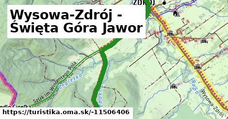 Wysowa-Zdrój - Święta Góra Jawor