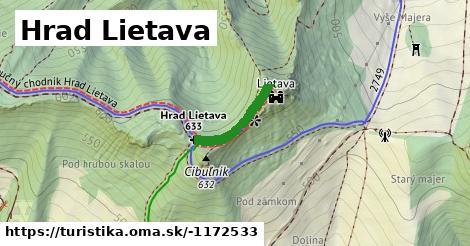 ilustračný obrázok k Hrad Lietava 4dc493fbda4