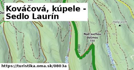 ilustračný obrázok k Kováčová, kúpele - Sedlo Laurín