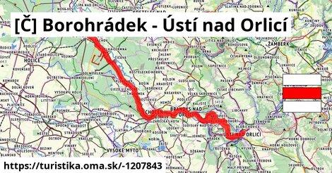 [Č] Borohrádek - Ústí nad Orlicí