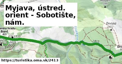 ilustračný obrázok k Myjava, ústred. orient - Podbranč, Podzámok