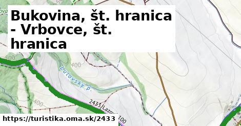 ilustračný obrázok k Bukovina, štátna hranica - Šance, U Sabotů