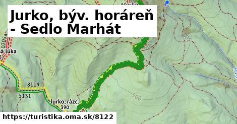ilustračný obrázok k Jurko, býv. horáreň - Sedlo Marhát