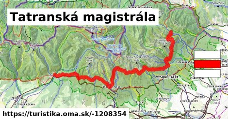 ilustračný obrázok k Tatranská Magistrála