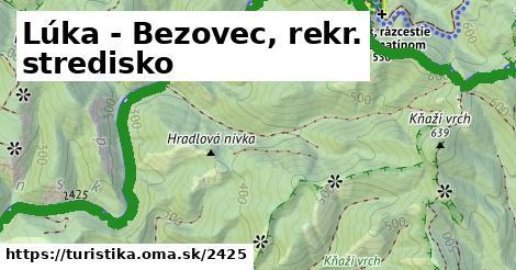 ilustračný obrázok k Lúka - Bezovec, rekr. stredisko