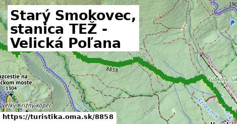 ilustračný obrázok k Starý Smokovec, stanica TEŽ - Velická Poľana