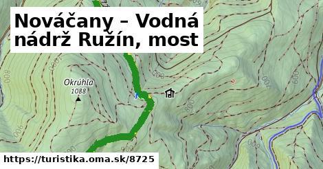ilustračný obrázok k Nováčany – Vodná nádrž Ružín, most