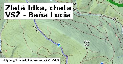 ilustračný obrázok k Zlatá Idka, chata VSŽ - Baňa Lucia