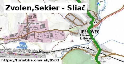 ilustračný obrázok k Zvolen,Sekier - Sliač