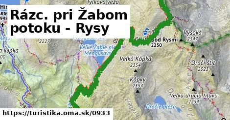 ilustračný obrázok k Rázc. pri Žabom potoku - Rysy