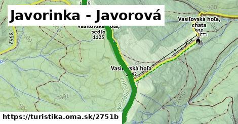 ilustračný obrázok k Javorinka - Javorová