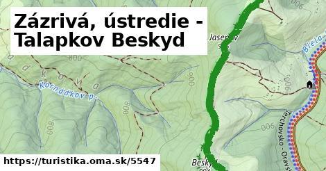 ilustračný obrázok k Zázrivá, ústredie - Talapkov Beskyd