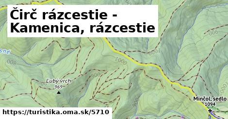 ilustračný obrázok k Čirč rázcestie - Kamenica, rázcestie