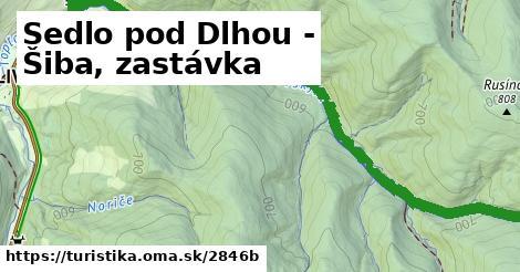 ilustračný obrázok k Sedlo pod Dlhou - Šiba, zastávka