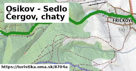 ilustračný obrázok k Osikov - Sedlo Čergov, chaty