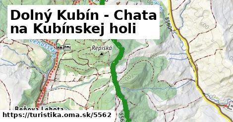 ilustračný obrázok k Dolný Kubín - Chata na Kubínskej holi