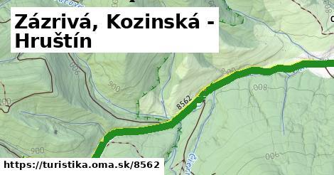 ilustračný obrázok k Zázrivá, Kozinská - Hruštín