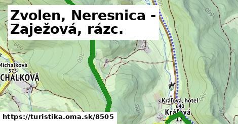 ilustračný obrázok k Zvolen, Neresnica - Zaježová, rázc.