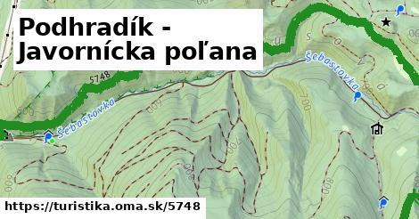 ilustračný obrázok k Podhradík - Javornícka poľana