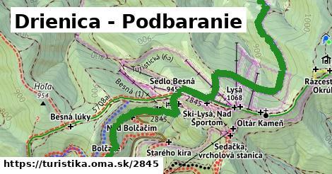 ilustračný obrázok k Drienica - Podbaranie