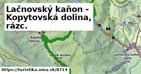 ilustračný obrázok k Lačnovský kaňon - Kopytovská dolina, rázc.