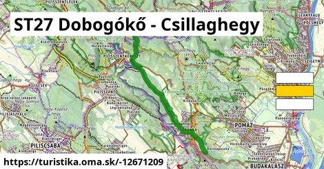 ST27 Dobogókő - Csillaghegy