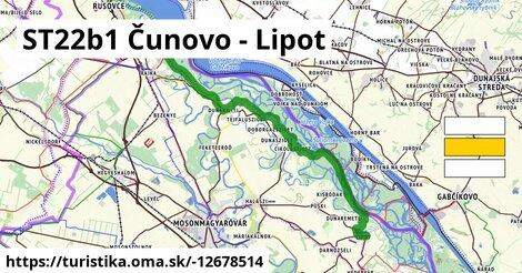 ST22b1 Čunovo - Lipot