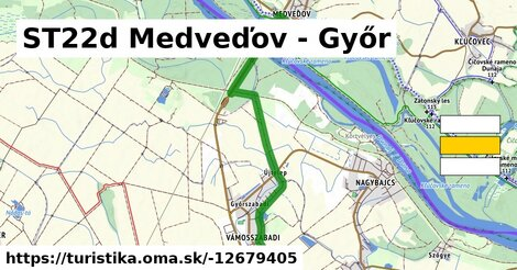 ST22d Medveďove - Győr