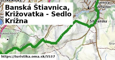 ilustračný obrázok k Banská Štiavnica, Križovatka - Sedlo Krížna