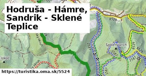 ilustračný obrázok k Hodruša - Hámre, Sandrik - Sklené Teplice