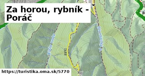 ilustračný obrázok k Za horou, rybník - Poráč