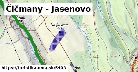 ilustračný obrázok k Čičmany - Jasenovo