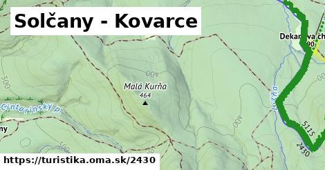 ilustračný obrázok k Solčany - Kovarce